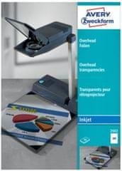 Avery Zweckform Prosojnice 2502 za Ink-Jet tiskalnike 50/1