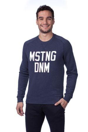 Mustang férfi pulóver S kék - További információ a termékről  69739cc7bc