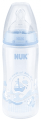 Nuk steklenička First Choice plus PP , 300 ml, silikonska 1M