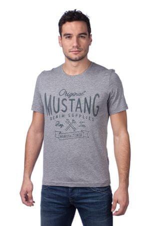 Mustang férfi póló S sötétszürke - További információ a termékről ... 612a35d2f0