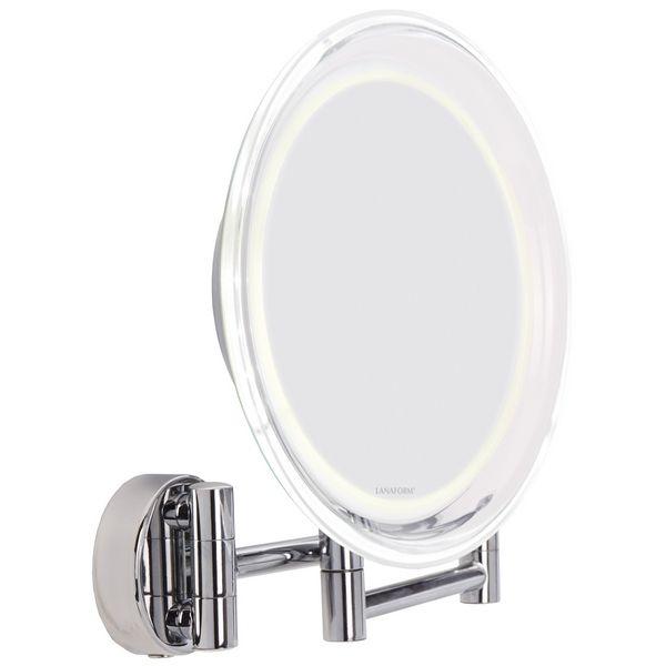 Lanaform Zrcadlo na stěnu s LED osvětlením Wall Mirror