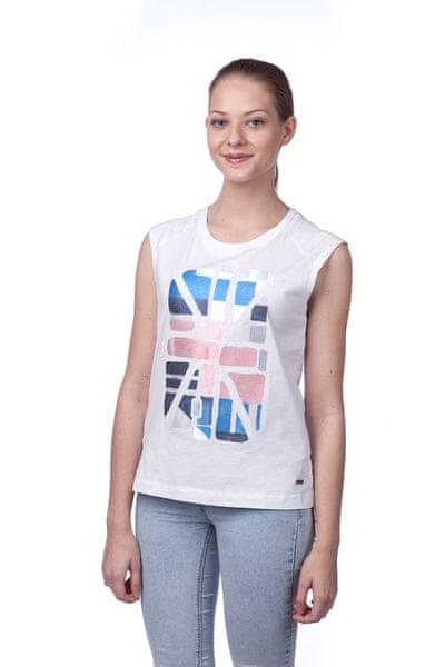 Pepe Jeans dámské tričko Nina L bílá