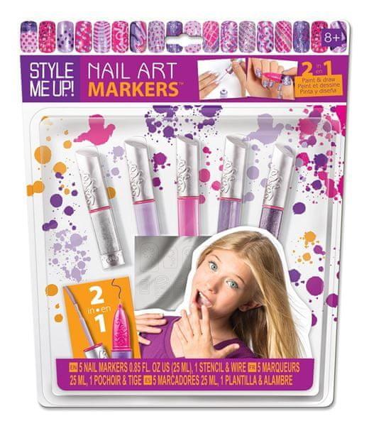 Wooky Perfektní nehty fialové