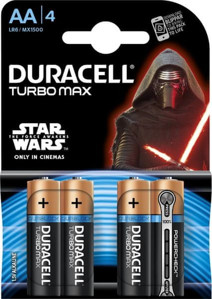 Duracell Turbo Max, AA, 4ks