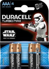 Duracell baterie LR03/AAA/MN2400 Turbo Max (K4)