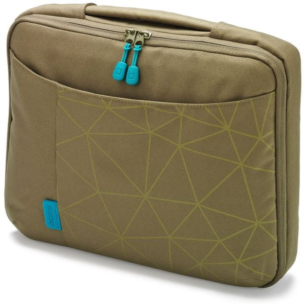 Dicota Slim Case BASE 10-11.6 green / blue (D30345)