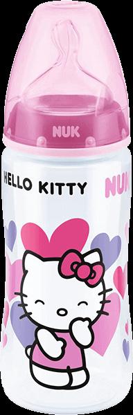 Nuk FC+ Láhev Hello Kitty PP 300ml, růžová