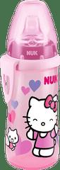 """Nuk Active Cup Hello Kitty z silikonowym ustnikiem """"niekapkiem"""", 300ml"""