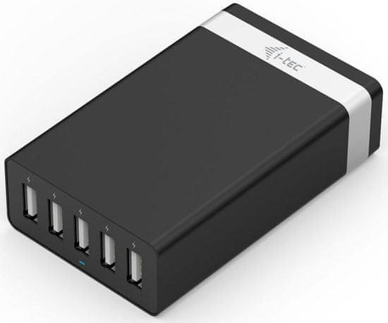 I-TEC USB Smart Charger 5 Port 40W / 8A (CHARGER5P40W)