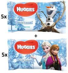 Huggies Chusteczki nawilżane Natural Care Frozen 10x56 szt.
