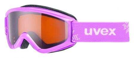 Uvex Speedy Pro Pink-Snowflake / Lasergold