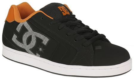 DC Buty Net M Shoe Bo1 Black/Orange 9 (42)
