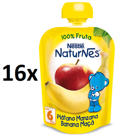Nestlé NaturNes Banán-Jablko 16x90g