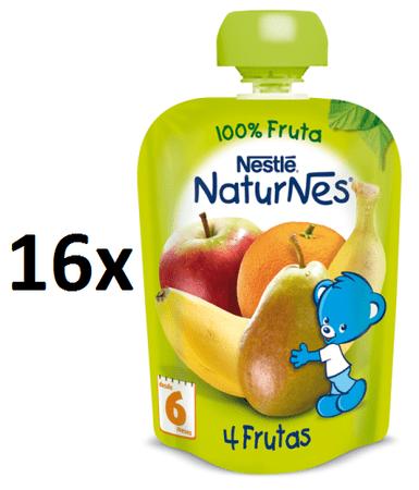 Nestlé NaturNes 4 Ovocie 16x90g