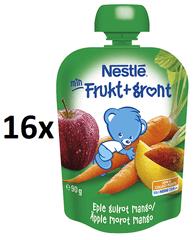 Nestlé Ovocno-zeleninová kapsička Karotka Mango 16x90g