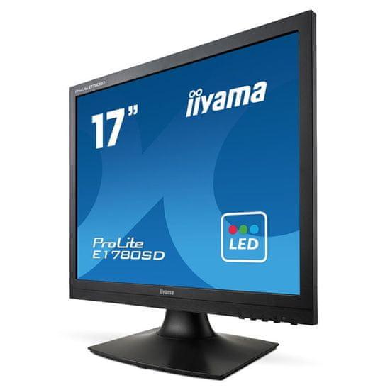 iiyama TN LED monitor ProLite E1780SD-B1