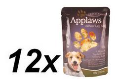Applaws kapsička Dog - kura a zelenina v ženšenovom vývare 12 x 150g