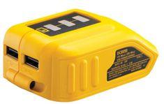 DeWalt USB polnilnik z adapterjem za XR baterije DCB090