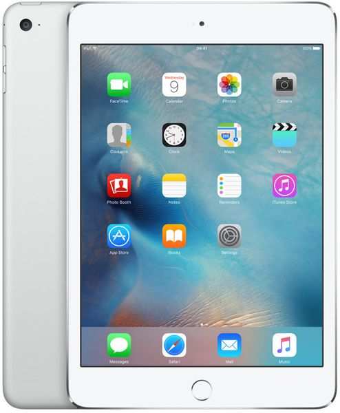Apple iPad Mini 4 Wi-Fi 128GB Silver (MK9P2FD/A)