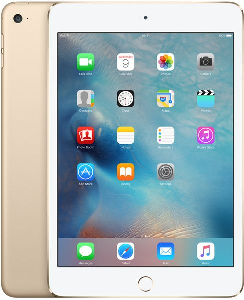 Apple iPad Mini 4 Wi-Fi 128GB Gold (MK9Q2FD/A)