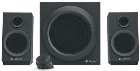Logitech Z333 zvočniki, 2.1