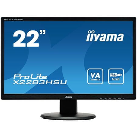 iiyama LED monitor X2283HSU-B1DP