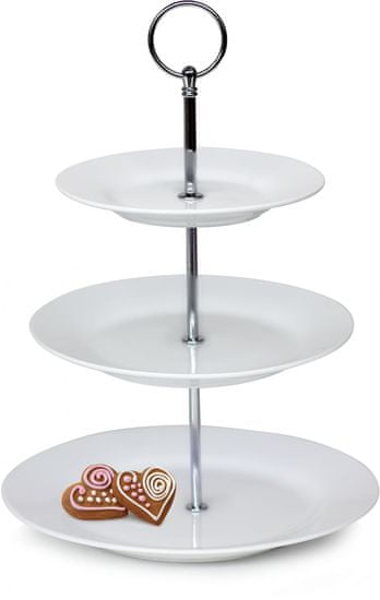 Banquet 3-patrový stojan na cukroví SOFIA