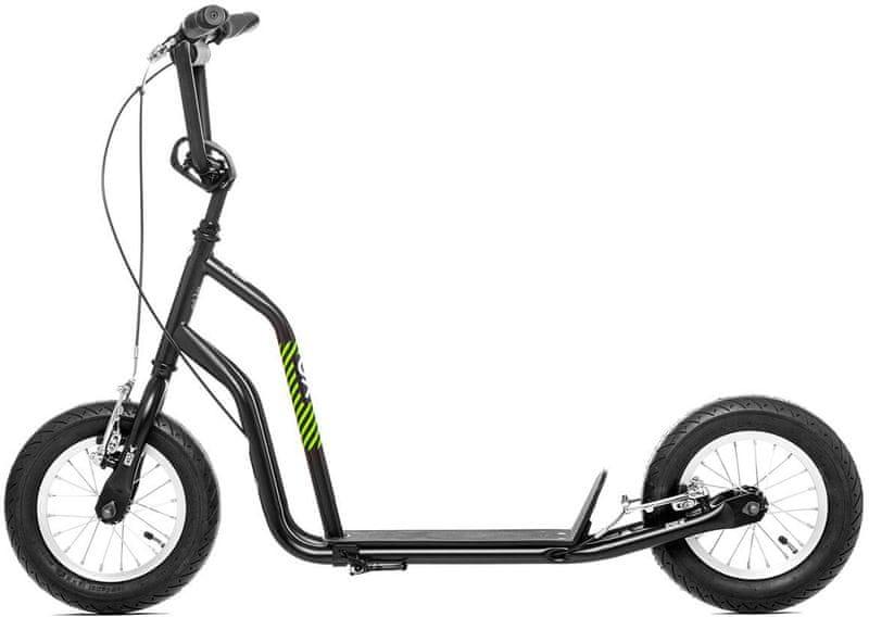 """Yedoo Koloběžka OX 12"""", černá/zelená"""