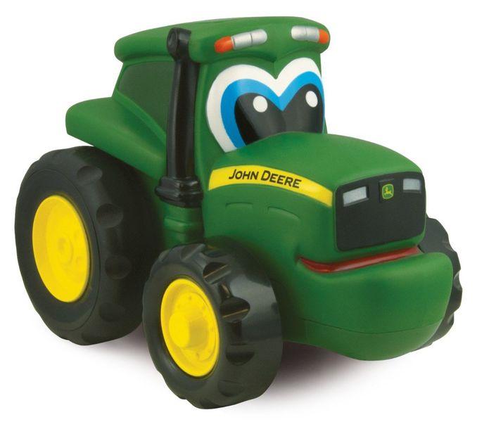 John Deere Traktor Johny zmáčkni a jeď