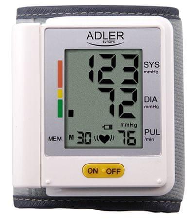 Adler zapestni merilnik krvnega tlaka AD 8411
