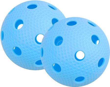 Tempish set 2 žogic za Floorball Bullet, modra
