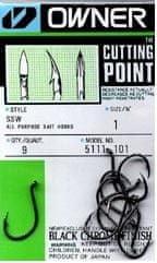 Owner háček s očkem 8 + cutting point  5111