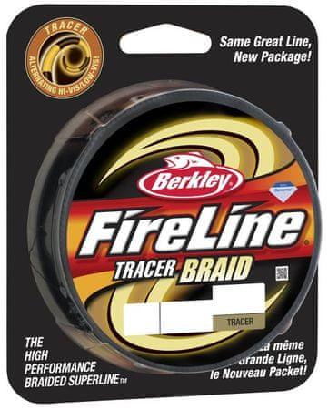 Berkley Splétaná šňůra FIRELINE TRACER BRAID 110 m yellow black 0,16mm, 16,3kg
