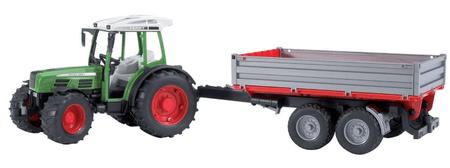 Bruder traktor Fendt s prikolico 02104