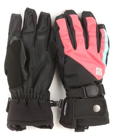 Nugget rękawiczki damskie Foxie S czarny