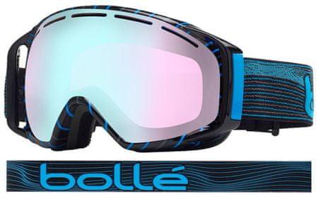 Bollé smučarska očala Gravity, grey and blue waves
