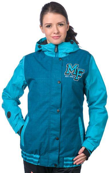 MEATFLY dámská snowboardová bunda Xox S modrá