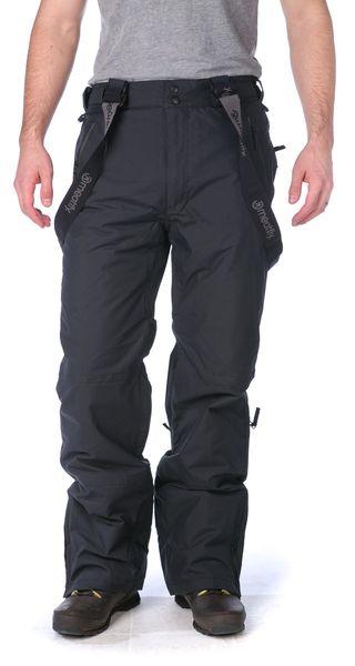 MEATFLY pánské snowboardové kalhoty Ghost S černá