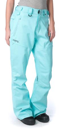 Nugget ženske hlače Vivid M turkizna