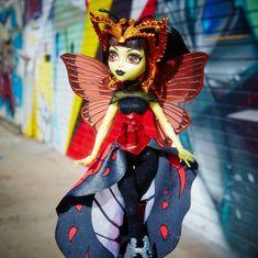 Monster High Boo York hviezdne príšerky Luna Mothews