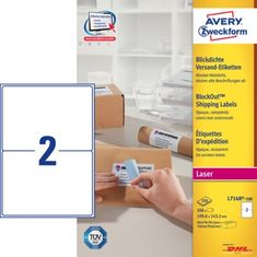 Avery Zweckform etikete L7168-100, 199,6 x 143,5 mm, bele