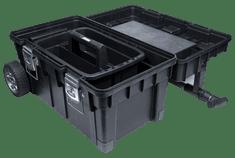 PATROL skrzynka na kółkach Wheelbox HD Trophy 3 - czerwona