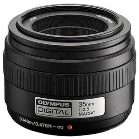 Olympus objektiv EM-35mm črn