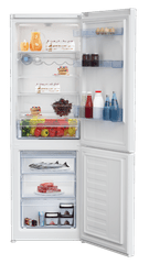 BEKO CSA 365 K30W Szabadonálló Kombinált hűtőszekrény
