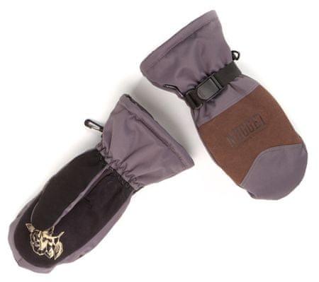 Nugget dámské rukavice Maple S šedá