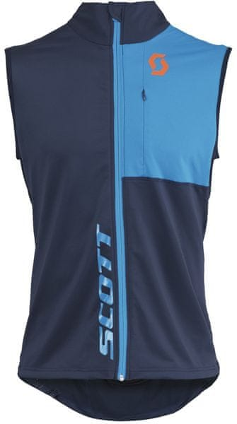 Scott Thermal Vest M's Actifit black iris/blue L