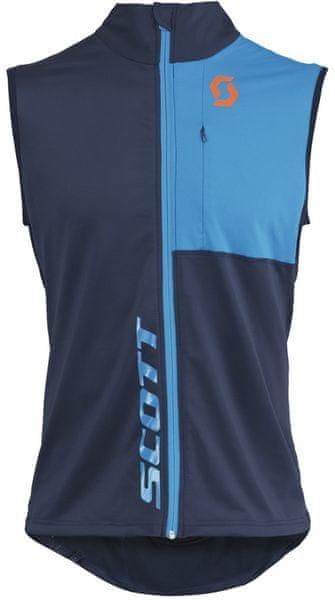 Scott Thermal Vest M's Actifit black iris/blue L