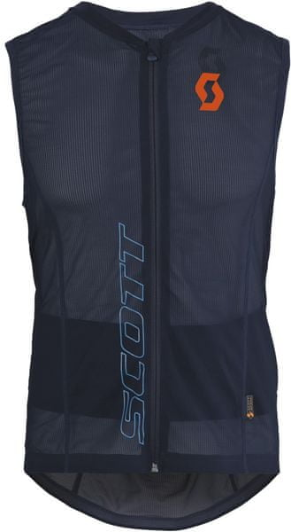 Scott Light Vest M's Actifit black iris/orange L