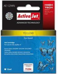 ActiveJet kompatibilna kartuša za Epson T1294, rumena