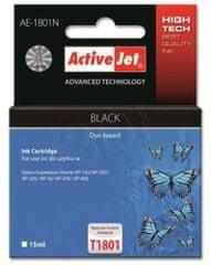 ActiveJet kompatibilna kartuša za Epson T1801, črna
